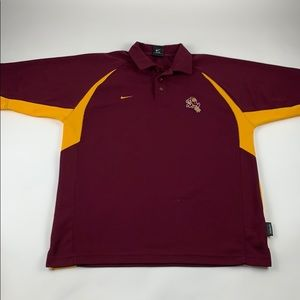 Arizona Sun Devils Sparky NCAA Dri Fit Polo Shirt